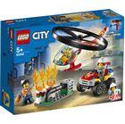 Obrazek LEGO City 60248 Helikopter strażacki leci na ratun