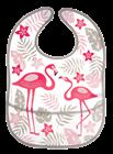 Obrazek Canpol babies śliniak zmywalny z kieszenią JUNGLE koralowy